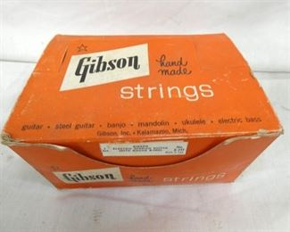 OLD STOCK GIBSON STRINGS