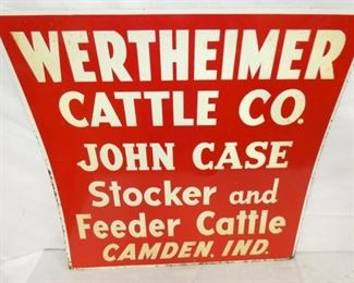 VIEW 2 CLOSEUP CATTLE CO. FEEDER SIGN