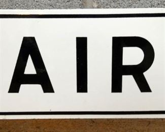VIEW 2 OTHERSIDE AIR STATION SIGN