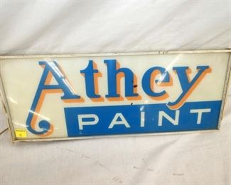 VIEW 2 ATHEY PAINT SIGN