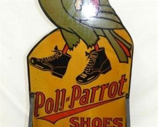 VIEW 4 OTHERSIDE RARE POLL PARROT SIGN