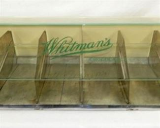 50X12 WHITMANS CHOC. DISPLAY CASE