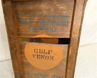 10X16 WOODEN GULF BOX