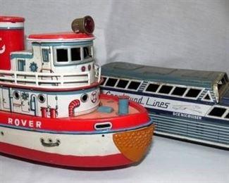 GREYHOUND LINES BUS/BO ROVER SHIP