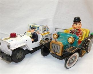 BO POLICE CAR & MYSTERY AMODEL CARS