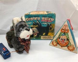 BO SCOTCH WATCH DOG/ROLLING CLOWN
