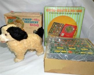 BO CHAP THE DOG/ROULETTE DICE