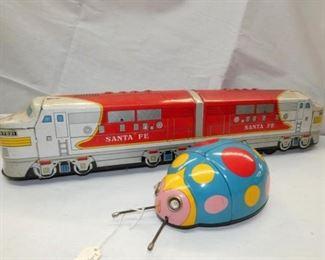 BO SANTE FE TRAIN/LADY BUG