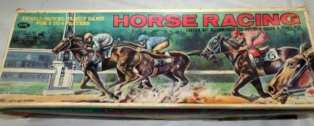 VIEW 2 HORSE RACING GAME W/ORG. BOX