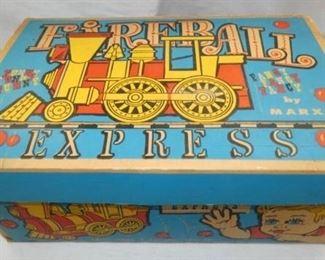 MARX FIREBALL EXPRESS TRAIN W/ORG BOX