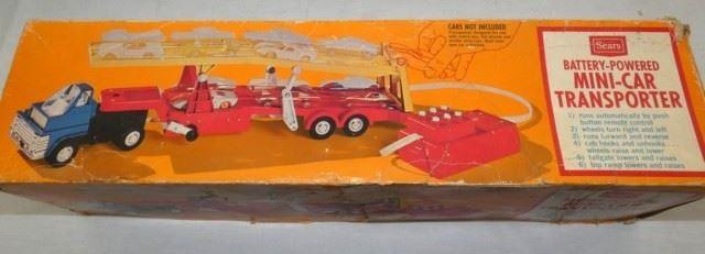 BO MINI CAR TRANSPORTER W/ORG BOX
