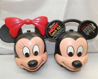 MICKEY AND Minnie Mouse LUNCH BOXES