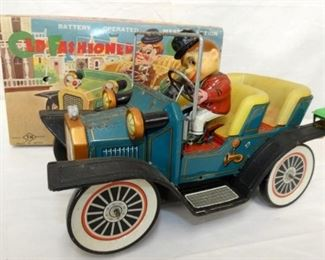 BATTERY OPT OLD FASHIONED CAR W/BOX