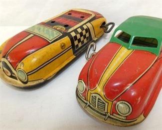 (2) MARX WIND UP CARS