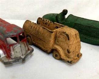 (3) AUBURN RUBBER TOY CARS