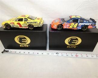 ELITE 1:24 SCALE NASCAR COLL. CARS