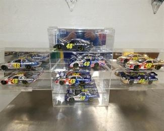 COLLECTION 1:24 SCALE NASCAR CARS