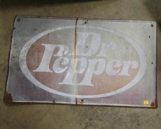 40X24 DR. PEPPER SIGN