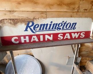 VIEW 2 TOP REMINGTON CHAINSAW SIGN