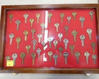 COLLECTION OF STORE KEYS