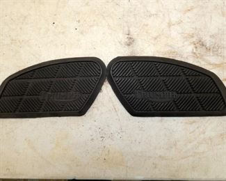 TRIUMPH MOTORCYCLE FOOT PADS