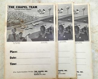 CHAPEL HILL RACING TEAM POSTERS