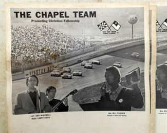 VIEW 3 CHAPEL HILL RACING TEAM POSTERS