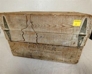 VIEW 2 BACKSIDE HERCULES WOODEN BOX