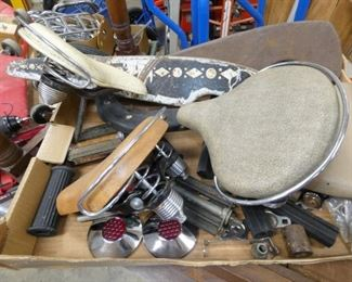BICYLE SEATS & OTHER