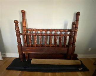 Handmade double bed