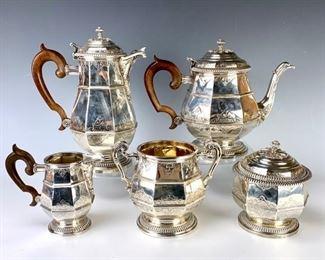 Tiffany & Co., Paris Sterling 5pc Tea Set - Lot 125a