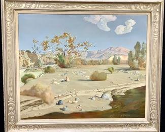 R. Brownell McGrew (1916-1994) Desert Landscape - Lot 114