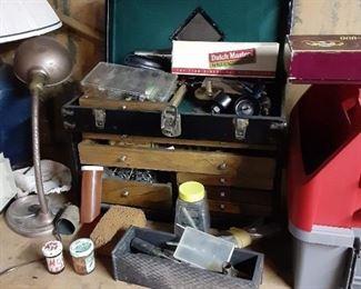 Antique Gerstner engineer's toolbox $150