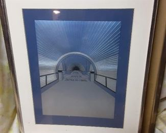 Nice selection of art original and posters framed