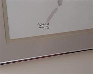 Popo signed poster framed