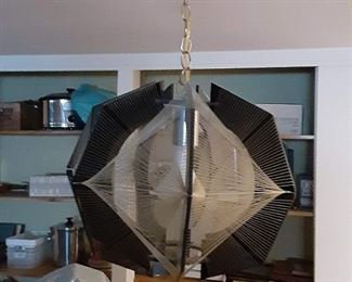 Mid-century retro spaghetti string lamp Chandelier