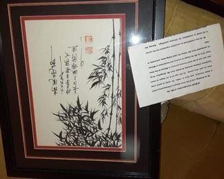 Original Oriental art work