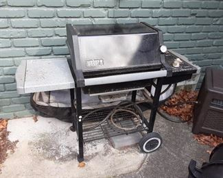 Weber BBQ propane