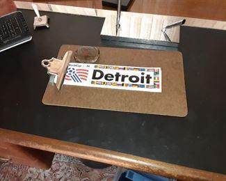 Lots of Detroit & Mayor Young ephemera