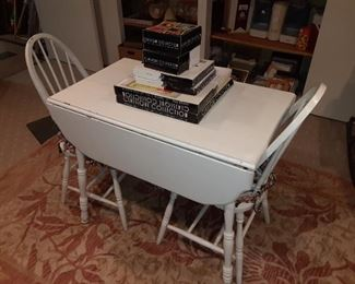 painted antique kitchen table