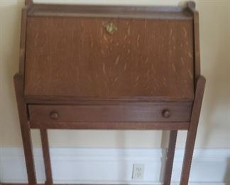 Drop down small writing table