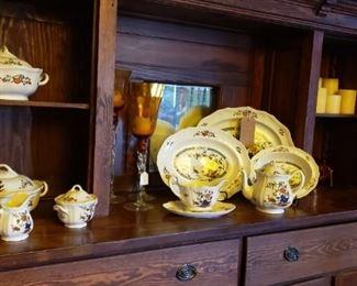 Wedgwood china, candlesticks