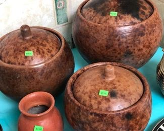 Very interesting pots