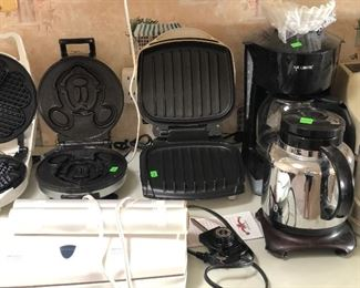 Lots of electric cookware