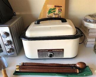 Electric toaster.  Like nee