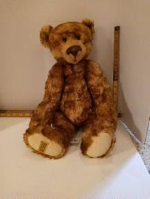 Limitied Edition Merry Thought Bear.  Made in England.  121/500