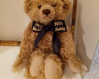 Steiff Bear 1902-2002 Teddy.  Edition 2002. Jubilbaer