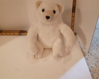 "Greek - ""It's All Greek"" Small white bear"
