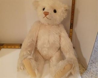 Steiff Limited Edition 1988-89.  Large white bear with brown nose