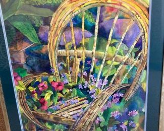 Origianl watercolor by Paul J Valdez